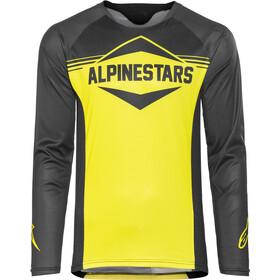 Alpinestars Mesa Langærmet cykeltrøje Herrer, black acid yellow